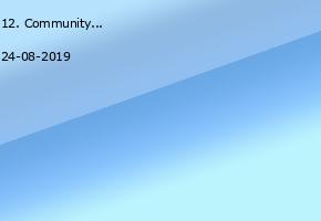 12. CommunityCamp 2019