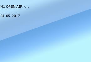H1 OPEN AIR - Sands - Mittwoch, 24.Mai 2017