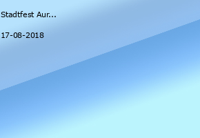 Stadtfest Aurich 2018