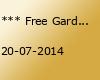*** Free Garden party w/ Marco Bailey, Trish, Dave Lambert ***