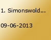 1. Simonswoldmer Gartenpartie