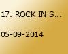 17. ROCK IN SCHROTH Open Air Benefizfestival