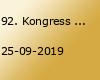 92. Kongress der Deutschen Gesellschaft für Neurologie