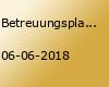 Betreuungsplanung und Case Management 03/18 in Münster