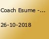 "Coach Esume - ""Believe the Hype!"" Live in Essen"
