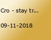 Cro - stay tru.-Tour | Barclaycard Arena Hamburg