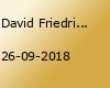 David Friedrich (at) MA U Club | 26 09 2018