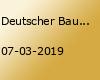 Deutscher Bautechnik-Tag 2019