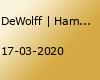 DeWolff | Hamburg (verschoben)