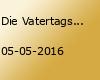 Die Vatertagstour - Himmelfahrtsparty 2016 // Eintritt komplett frei // Do 05.05.2016