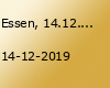 Essen, 14.12.2019