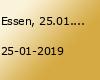 Essen, 25.01.2019