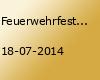 Feuerwehrfest Spetzerfehn Disco