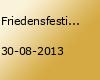 Friedensfestival Ostfriesland 2013
