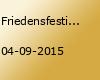 Friedensfestival Ostfriesland 2015