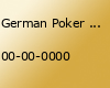 German Poker Days Ultra Deepstack Wilhelmshaven