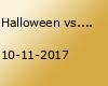 Halloween vs. Martini