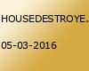 HOUSEDESTROYER GOES OSTFRIESLAND