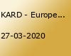 KARD - Europe Tour 2020