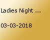Ladies Night - I Love huGo's