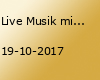 Live Musik mit Holger Aden