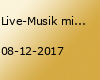 Live-Musik mit Thomas Kümper