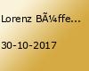 Lorenz Büffel LIVE