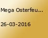 Mega Osterfeuer auf dem Lindenhof de Vries mit Musik und Tanz direkt am Feuer