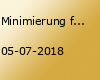 Minimierung freiheitsentziehender Maßnahmen 01/18 in Münster