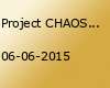 Project CHAOS PARTY –  BRINGT EURE EIGENEN GETRÄNKE MIT ZUR PARTY!