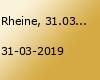 Rheine, 31.03.2019