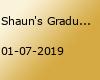 Shaun's Graduation