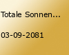 Totale Sonnenfinsternis 2081