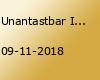 Unantastbar I Würzburg - Leben Lieben Leiden Tour 2018