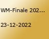 WM-Finale 2022 auf dem Stuttgarter Weihnachtsmarkt
