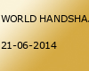 WORLD HANDSHAKE DAY - June 21, 2014