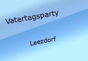 Vatertagsparty